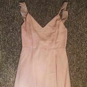 Lulu's Pink Chiffon Formal Dress size XL